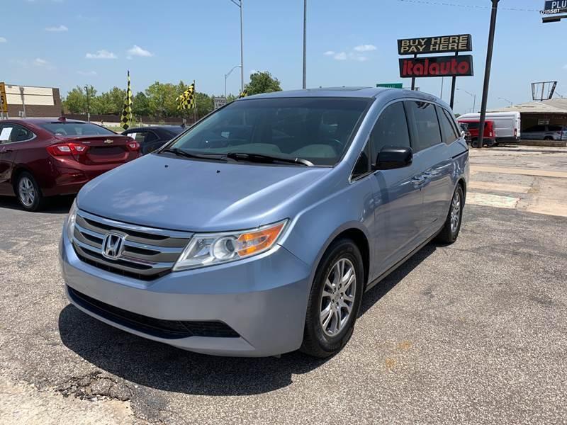 2012 Honda Odyssey for sale at Ital Auto in Oklahoma City OK