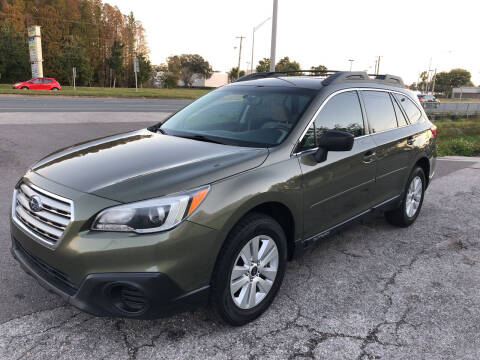 2017 Subaru Outback for sale at Reliable Motor Broker INC in Tampa FL