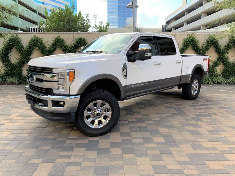 2018 Ford F-250 Super Duty for sale at ROGERS MOTORCARS in Houston TX