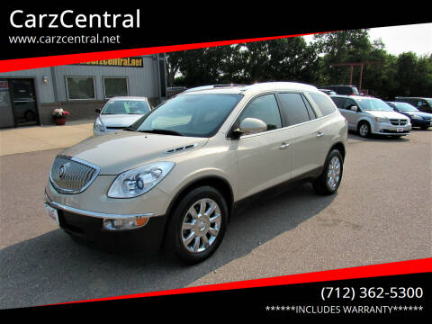 2011 Buick Enclave for sale at CarzCentral in Estherville IA