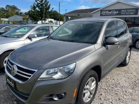 2011 Volkswagen Tiguan for sale at L & H Used Cars of Wilmington in Wilmington NC