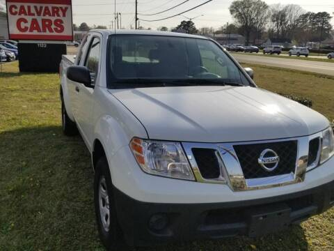2013 Nissan Frontier for sale at Calvary Cars & Service Inc. in Norfolk VA