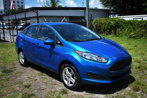 2017 Ford Fiesta for sale at ELITE MOTOR CARS OF MIAMI in Miami FL