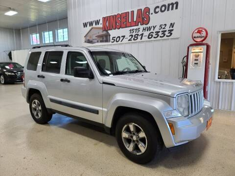 2008 Jeep Liberty for sale at Kinsellas Auto Sales in Rochester MN