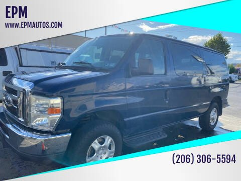 2008 Ford E-Series Wagon for sale at EPM in Auburn WA