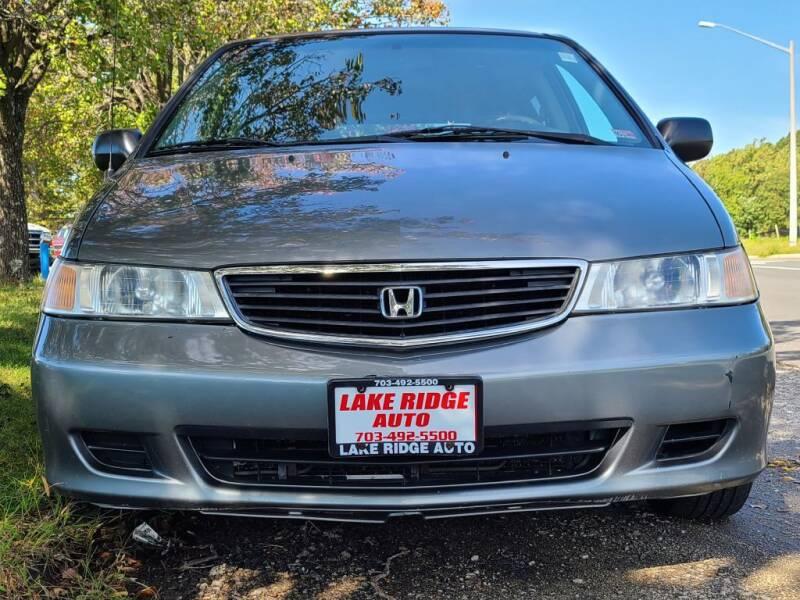 2000 Honda Odyssey for sale at Lake Ridge Auto Sales in Woodbridge VA