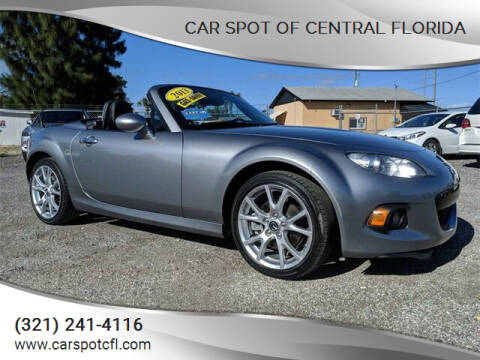 2013 Mazda MX-5 Miata for sale at Car Spot Of Central Florida in Melbourne FL