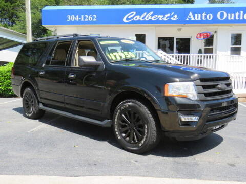 2015 Ford Expedition EL for sale at Colbert's Auto Outlet in Hickory NC