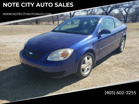 2006 Chevrolet Cobalt for sale at NOTE CITY AUTO SALES in Oklahoma City OK