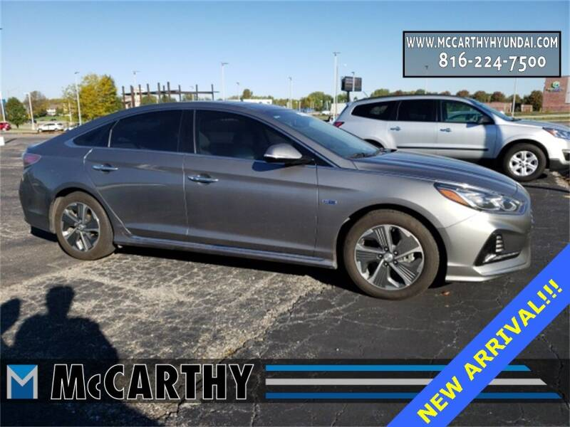 2018 Hyundai Sonata Hybrid for sale at Mr. KC Cars - McCarthy Hyundai in Blue Springs MO