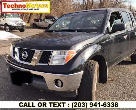 2005 Nissan Frontier for sale at Techno Motors in Danbury CT