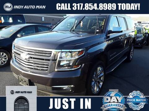 2016 Chevrolet Suburban for sale at INDY AUTO MAN in Indianapolis IN