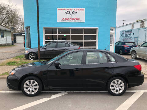 2011 Subaru Impreza for sale at Finish Line Motors in Tulsa OK