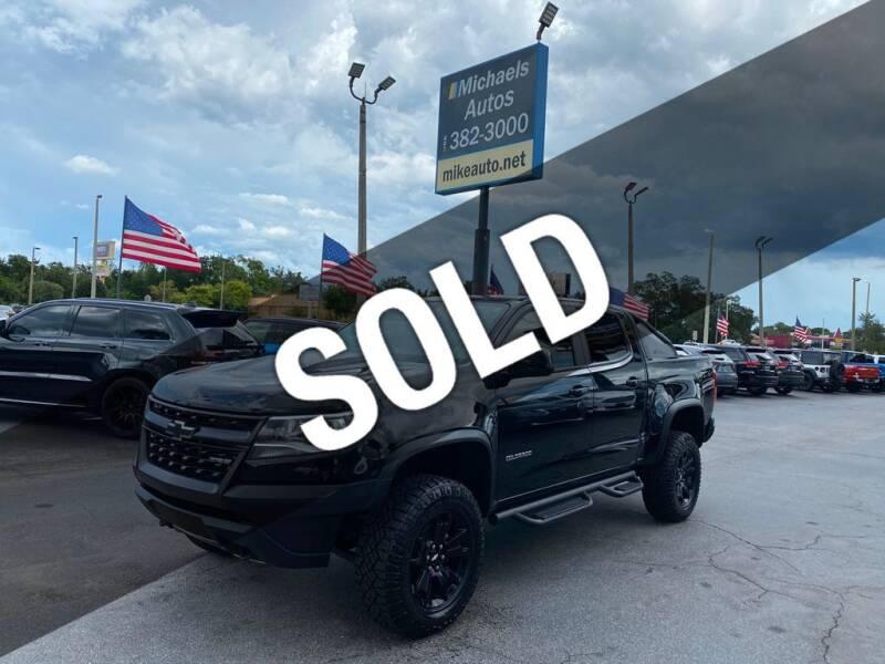2020 Chevrolet Colorado for sale at Michaels Autos in Orlando FL