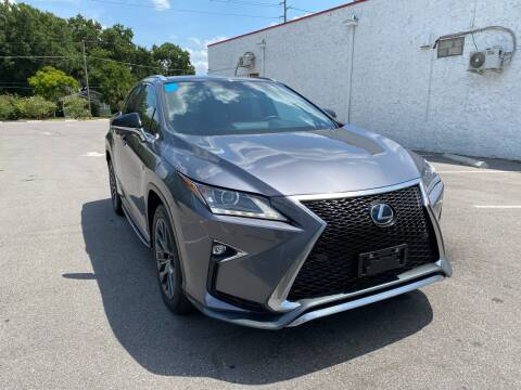 2017 Lexus RX 350 for sale at LUXURY AUTO MALL in Tampa FL