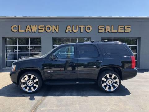 2011 Chevrolet Tahoe for sale at Clawson Auto Sales in Clawson MI