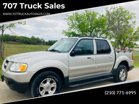 2004 Ford Explorer Sport Trac for sale at 707 Truck Sales in San Antonio TX