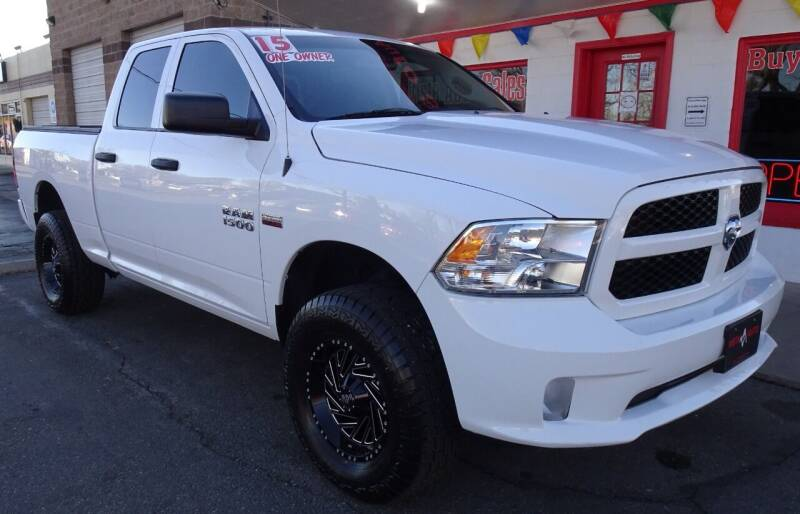 2015 RAM Ram Pickup 1500 for sale at VISTA AUTO SALES in Longmont CO