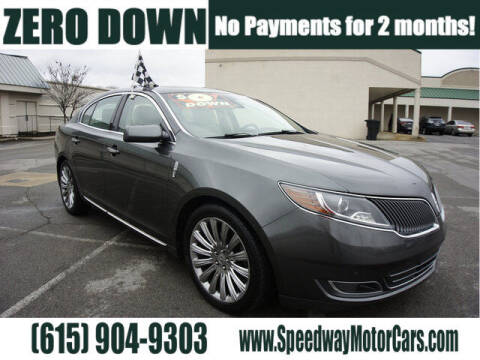 2015 Lincoln MKS for sale at Speedway Motors in Murfreesboro TN