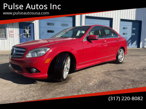 2010 Mercedes-Benz C-Class for sale at Pulse Autos Inc in Indianapolis IN