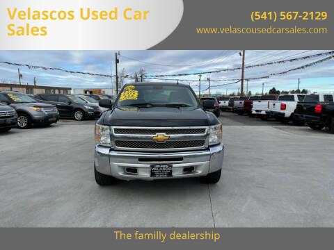 2012 Chevrolet Silverado 1500 for sale at Velascos Used Car Sales in Hermiston OR