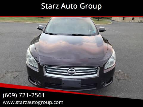 2014 Nissan Maxima for sale at Starz Auto Group in Delran NJ