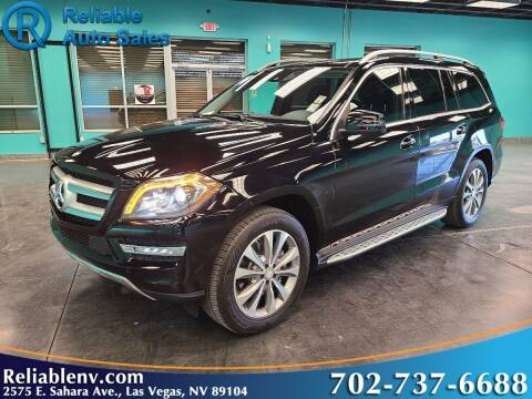2014 Mercedes-Benz GL-Class for sale at Reliable Auto Sales in Las Vegas NV