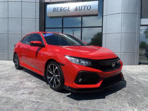 2017 Honda Civic for sale at Berge Auto in Orem UT