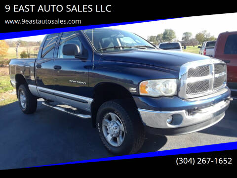 2003 Dodge Ram Pickup 2500 for sale at 9 EAST AUTO SALES LLC in Martinsburg WV