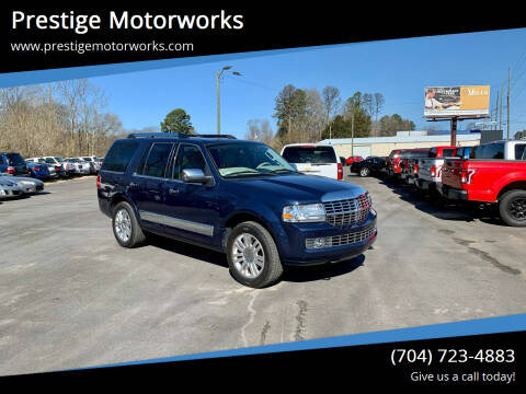 2013 Lincoln Navigator for sale at Prestige Motorworks in Concord NC