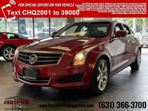 2014 Cadillac ATS for sale at CERTIFIED HEADQUARTERS in Saint James NY