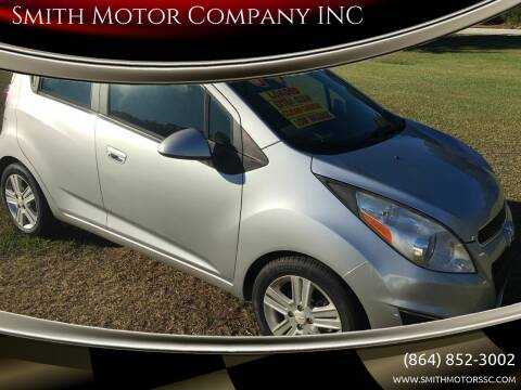 2014 Chevrolet Spark for sale at Smith Motor Company INC in Mc Cormick SC