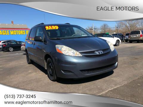 2007 Toyota Sienna for sale at Eagle Motors in Hamilton OH