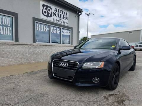 2010 Audi A5 for sale at 69 Auto Sales LLC in Excelsior Springs MO