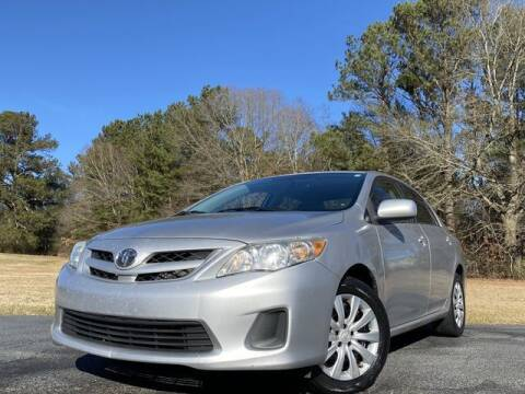 2012 Toyota Corolla for sale at Global Pre-Owned in Fayetteville GA