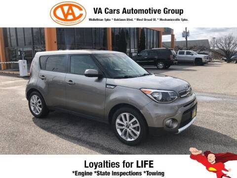2018 Kia Soul for sale at VA Cars Inc in Richmond VA