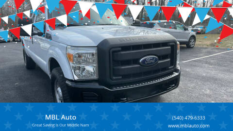 2013 Ford F-350 Super Duty for sale at MBL Auto Woodford in Woodford VA