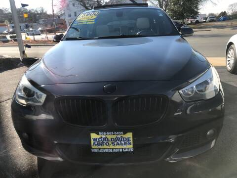 2013 BMW 5 Series for sale at Worldwide Auto Sales in Fall River MA