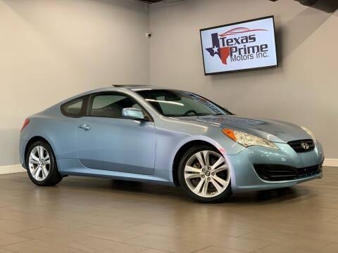 2010 Hyundai Genesis Coupe for sale at Texas Prime Motors in Houston TX