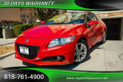 2013 Honda CR-Z for sale at Prestige Auto Sports Inc in North Hollywood CA