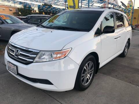 2011 Honda Odyssey for sale at Plaza Auto Sales in Los Angeles CA