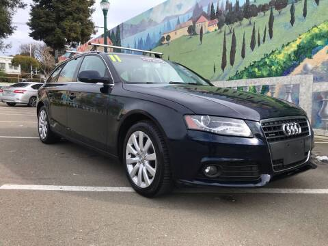 2011 Audi A4 for sale at Star One Motors in Hayward CA