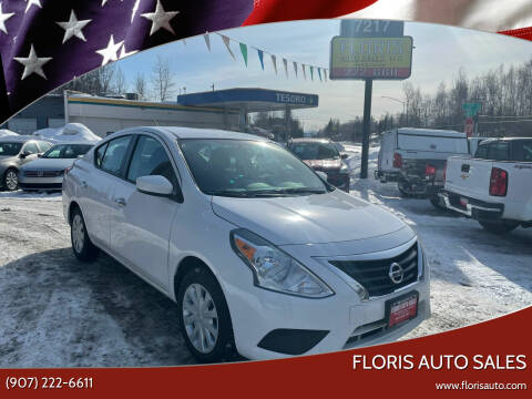 2019 Nissan Versa for sale at FLORIS AUTO SALES in Anchorage AK