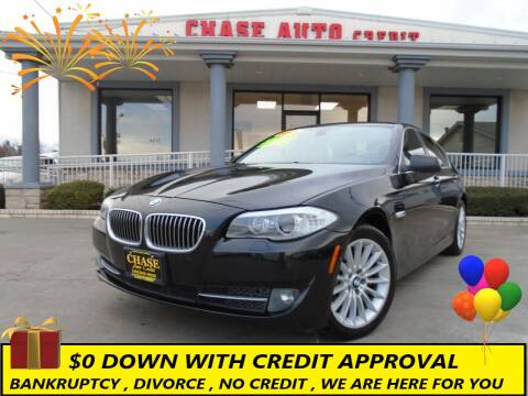 2013 BMW 5 Series for sale at Chase Auto Credit in Oklahoma City OK