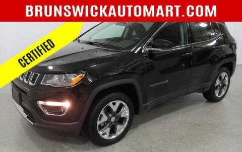 2019 Jeep Compass for sale at Brunswick Auto Mart in Brunswick OH