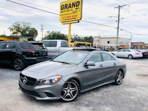 2014 Mercedes-Benz CLA for sale at Grand Auto Sales in Tampa FL