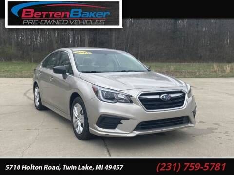 2018 Subaru Legacy for sale at Betten Baker Preowned Center in Twin Lake MI