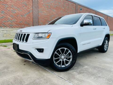 2014 Jeep Grand Cherokee for sale at AUTO DIRECT in Houston TX