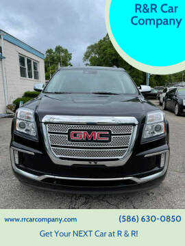 2016 GMC Terrain for sale at R&R Car Company in Mount Clemens MI