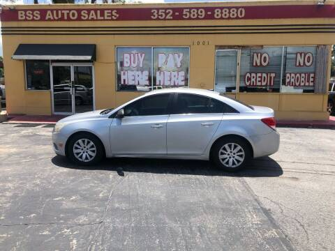 2011 Chevrolet Cruze for sale at BSS AUTO SALES INC in Eustis FL